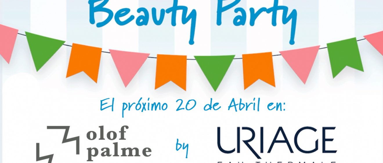 Farmacia Olof Palme Beauty Party URIAGE 20042017